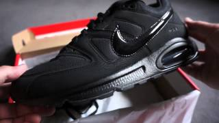 NIKE - AIR MAX - COMMAND - Triple Black - Unboxing & on feet review