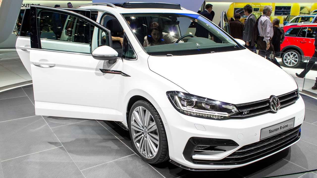 new volkswagen touran r line geneva motor show 2015 hq. Black Bedroom Furniture Sets. Home Design Ideas