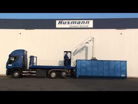 Уплотнитель отходов, ролл-катки Husmann