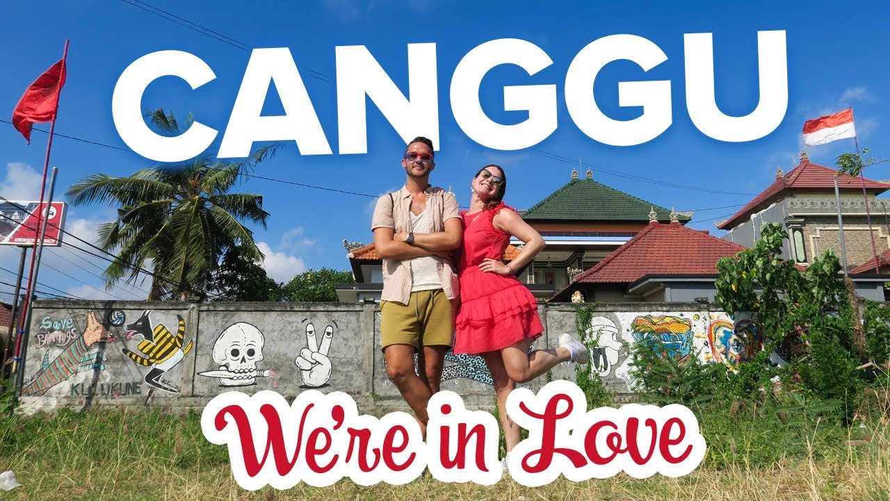 You Need to Visit Canggu. Best Town in Bali. Street Art Tour (Where to stay in Bali)
