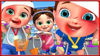 Tomorrow Will Song | Ride a Bike Song +The BEST SONGS For Children - Banana Cartoon Original Songs