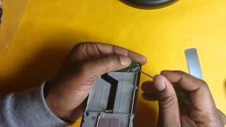 Alcatel One Touch Fierce Repair - Charging Port Removal