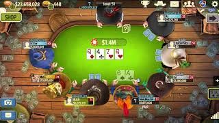 Governor of Poker 3 How to become High Roller Episode 2A. Avoiding bad beats.