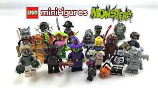 Download Video LEGO Minifigures Series 14 Monsters review! Complete series! 71010 MP3 3GP MP4