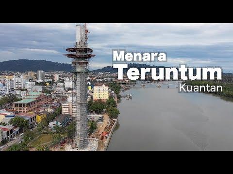 Menara Teruntum (Teruntum Tower) - Kuantan, Pahang . - Malaysia. Progress as 4 Jan 2019