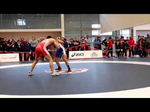 2015 Senior National Championships: 57 kg James Mancini vs. John Pineda