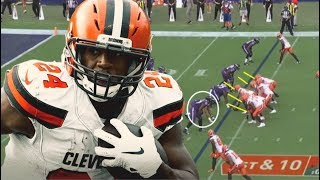 Film Study: How Nick Chubb ran all over the Baltimore Ravens defense