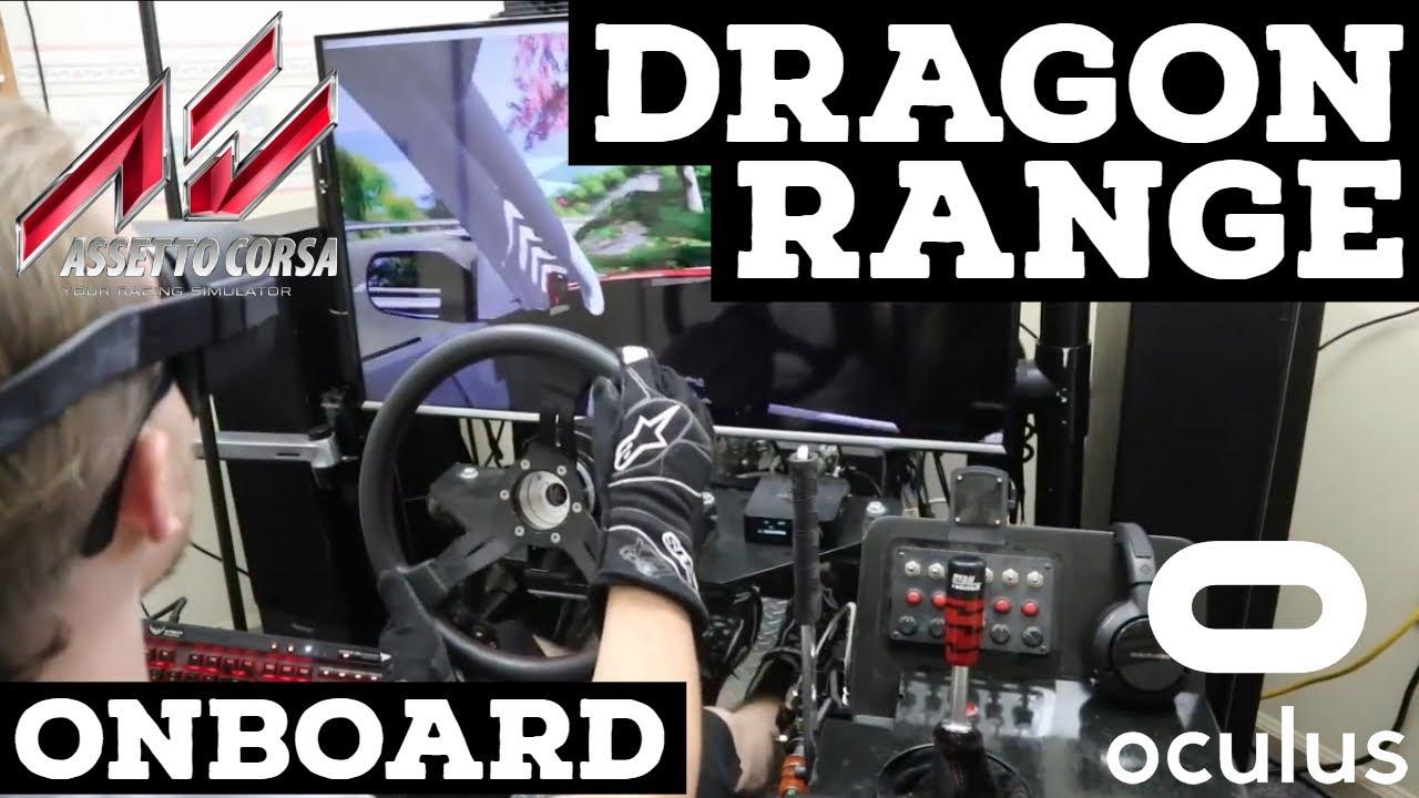 Dragon Range - Assetto Corsa Drifting | Accuforce V2 | VR Gameplay [Oculus]