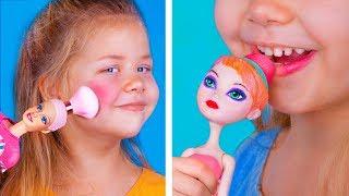 Wir Sind Nie Zu Alt Für Puppen: 10 DIY Puppen Makeup Ideen