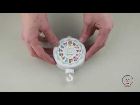 TadMart - How to use  Musical Mobile baby Box for baby crib