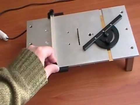 Homemade Micro Table Saw Youtube