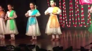6 yr old kathak dance