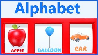 Learn ABC Alphabets Letters & Words with The Jackpot Slot Machine | Teddy & Timmy Poems For Kids