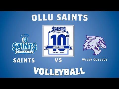 OLLU Saints Volleyball: OLLU vs Wiley College