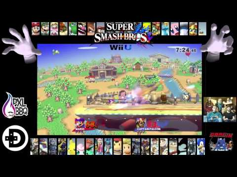 [FR] Super Smash Bros. Belgium Tournament Feat. DashTeam / PXLBBQ / Press-Start @ Game-In Café Brus
