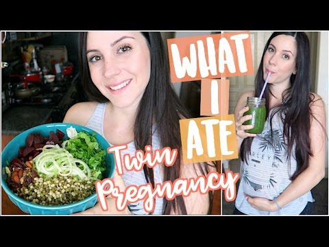 🤰🏻WHAT I ATE : TWIN PREGNANCY👶🏻👶🏻 (Plant-Based, Vegan)🌿