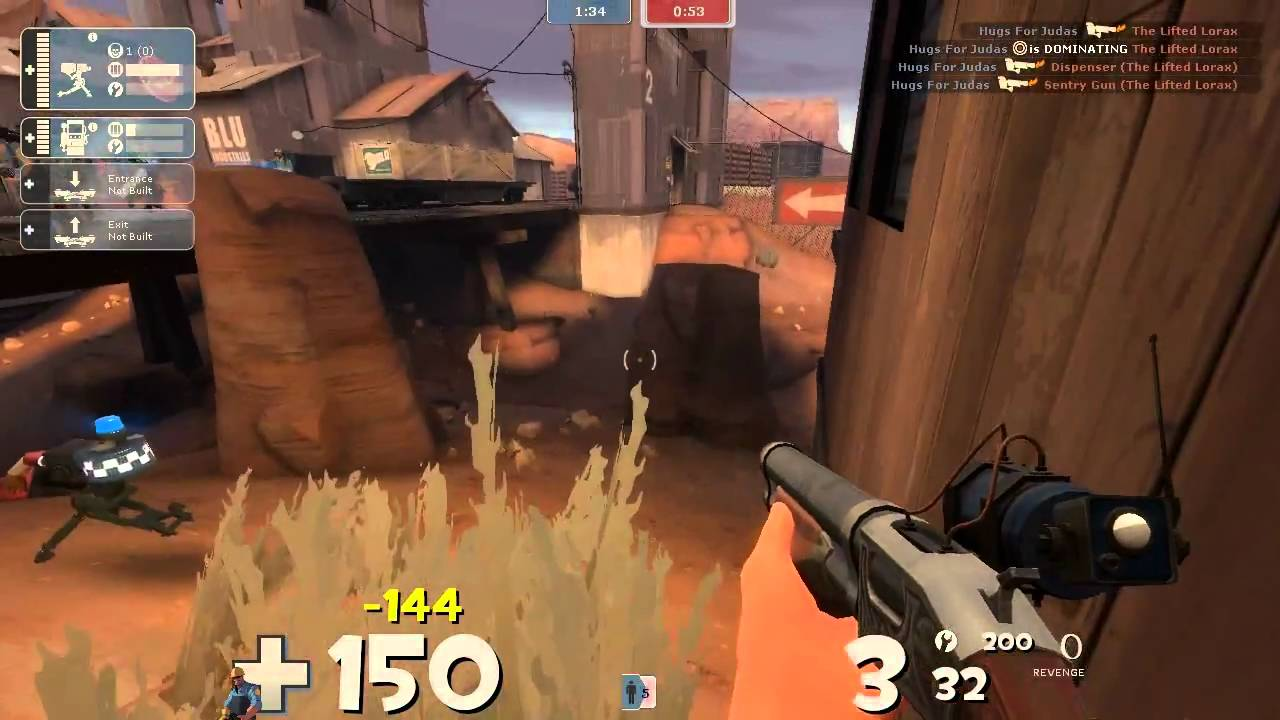 Badlands: TF2 [Commentary] Sniper / Engineer - Slinging it again on this map where it has been slung.  Also some sniper.