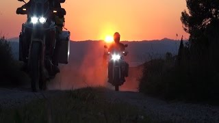 Honda Africa Twin Motorcycle Adventure - Pyrenees - Austin Vince