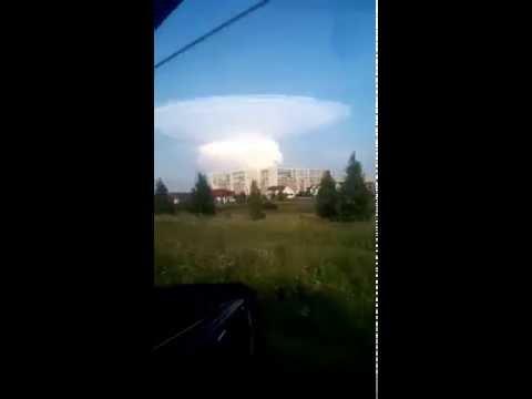 Ядерный взрыв. Ленинск-кузнецкий. 29.08.2016.