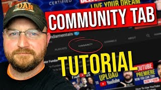 How To Use YouTube Community Tab