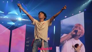 180905 BTS LA 'Love Yourself Tour' (Final ment+ Love Myself+goodbye stage)
