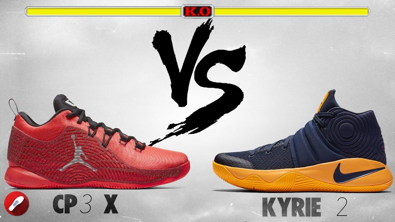 Jordan Cp3.X vs Nike Kyrie 2! - YouTube