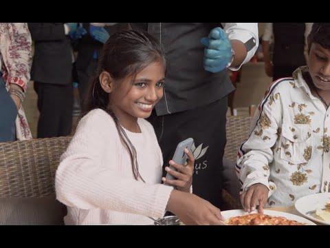 "India's homeless supermodel Maleesha Kharwa in ""Live Your Fairytale"" short film"