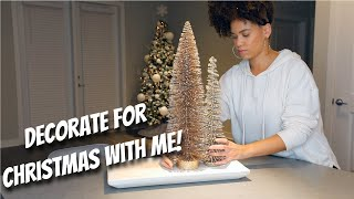 Decorate with Me! Christmas Home Tour 2020 | Lyasia in the City