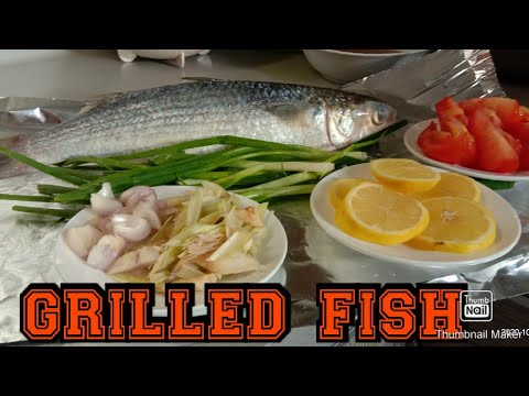 GRILLED FISH || HOW TO GRILL THE FISH || BAKE FISH