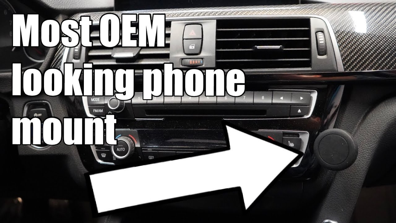 V98 Rennline Phone Mount Diy Install In An F80 Bmw M3 Fits F30 F31 F32 F82 F83 Models Youtube