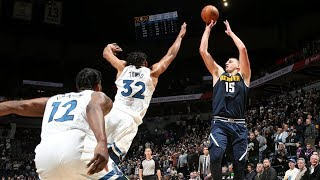 Nikola Jokic Game Winner OT vs Timberwolves! 2019-20 NBA Season