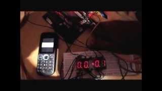 Digital Clock using AT89C51 microcontroller n 7 segment multiplexing.mp4