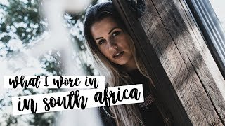 What I Wore In South Africa | Winter Sun Lookbook | Copper Garden