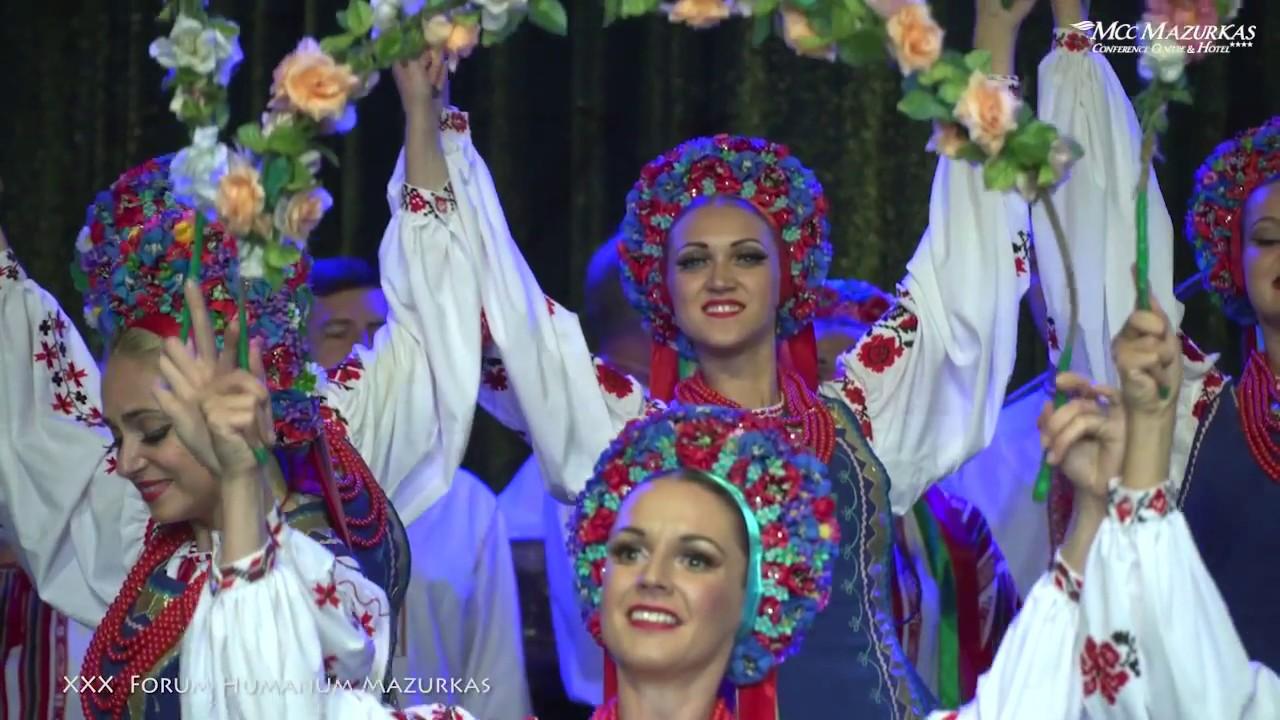 """XXX FORUM HUMANUM MAZURKAS - Narodowy Chór Ukrainy im. """"G.G.Wierowki"""" - """"Taniec z wiankami"""""""