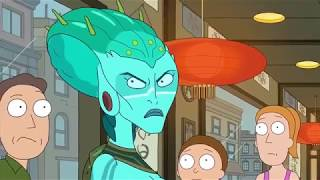 Jerry Moves On andTalks About Racism Rick and Morty Season 3 Episode 9 clip