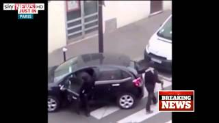 RAW: New Charlie Hebdo attack video