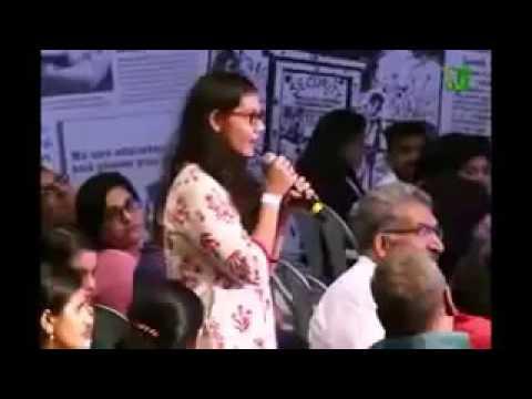 Kanhaiya Kumar best reply to Bjp