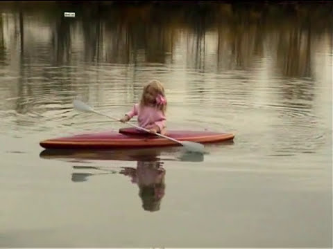 RC model rowing boat Paddelboot Sally RC Modellbau