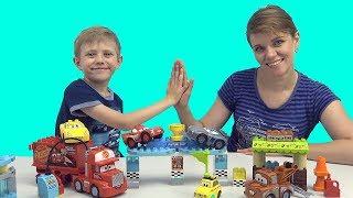 Машинки для детей ТАЧКИ 3 | Даник и машинки | Видео для детей  про машинки