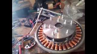 Генератор для ветряка из мотора стиральной машины