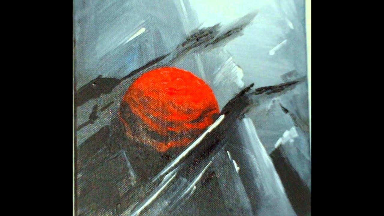 Peinture agryliques youtube - Modele peinture acrylique debutant ...