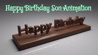 Happy Birthday Son✔| Send Best Happy Birthday Son Animation Video As Whatsapp and Facebook