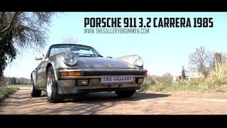 PORSCHE 911 3.2 CARRERA CONVERTIBLE - 1985 | GALLERY AALDERING TV