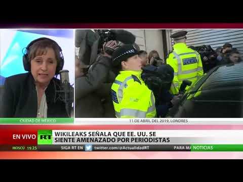 Carmen Aristegui provee su análisis respecto a la situación futura de Assange