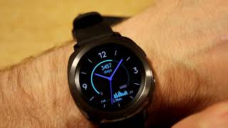 Samsung Gear Sport Watchfaces - First look at the Pre loaded faces