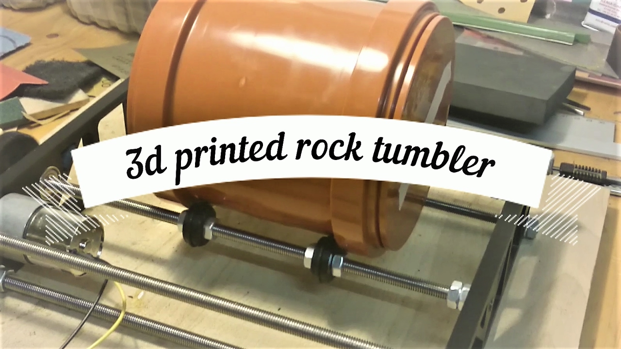 Cheap and easy to build Rock Tumbler