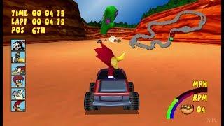 Woody Woodpecker Racing PS1 Gameplay HD (ePSXe) 60FPS