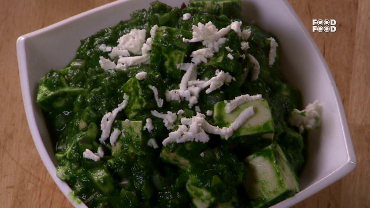 Palak paneer tofu sanjeev kapoors kitchen youtube forumfinder Images