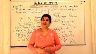 Intermolecular Forces -  States of Matter (Part 2)