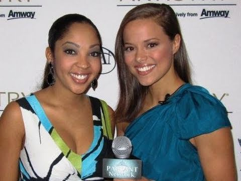 Miss America 2011 - Caressa Cameron & Mark Wills Interviews with Katie Stam